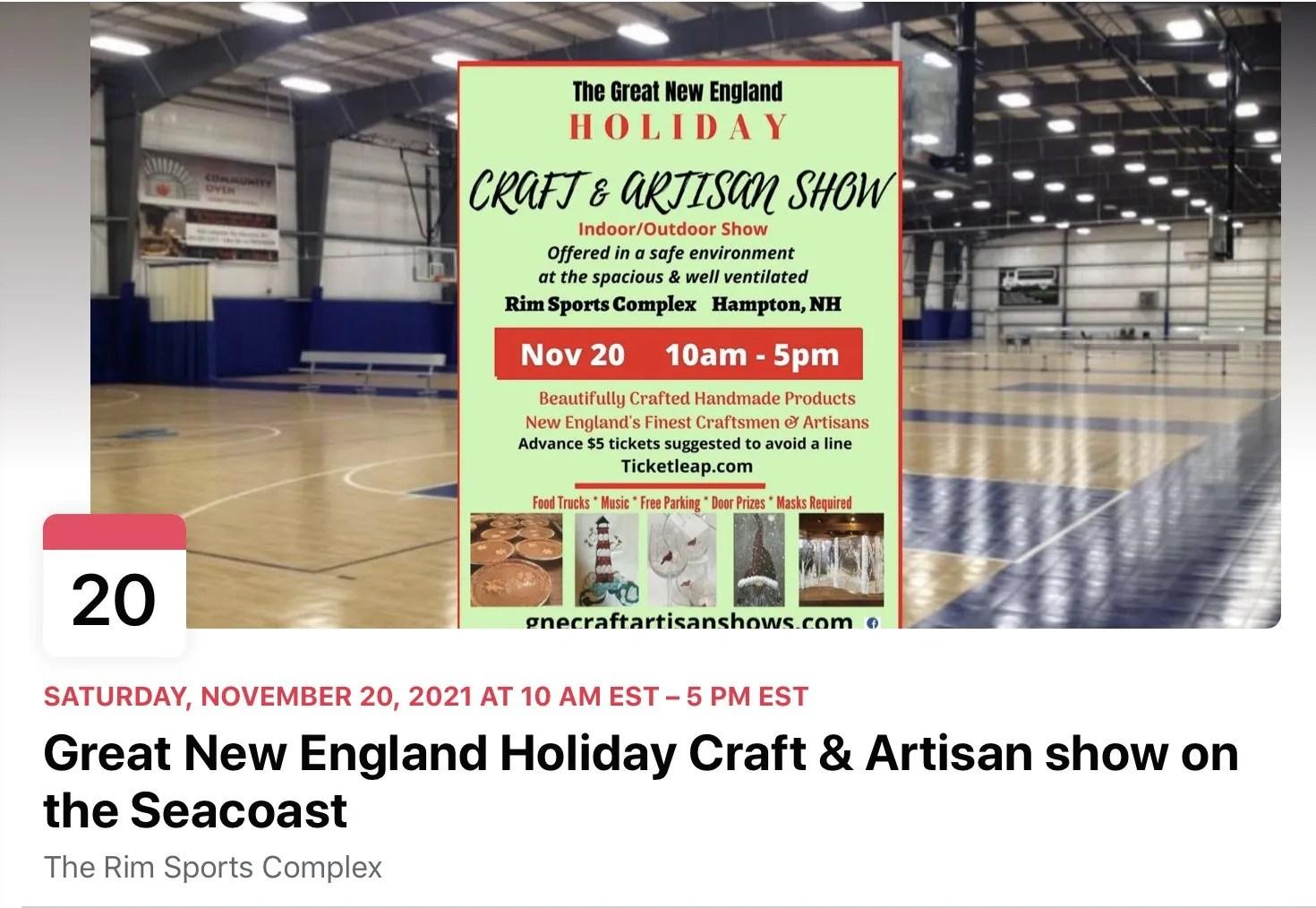GNE holiday Craft & Artisan fair