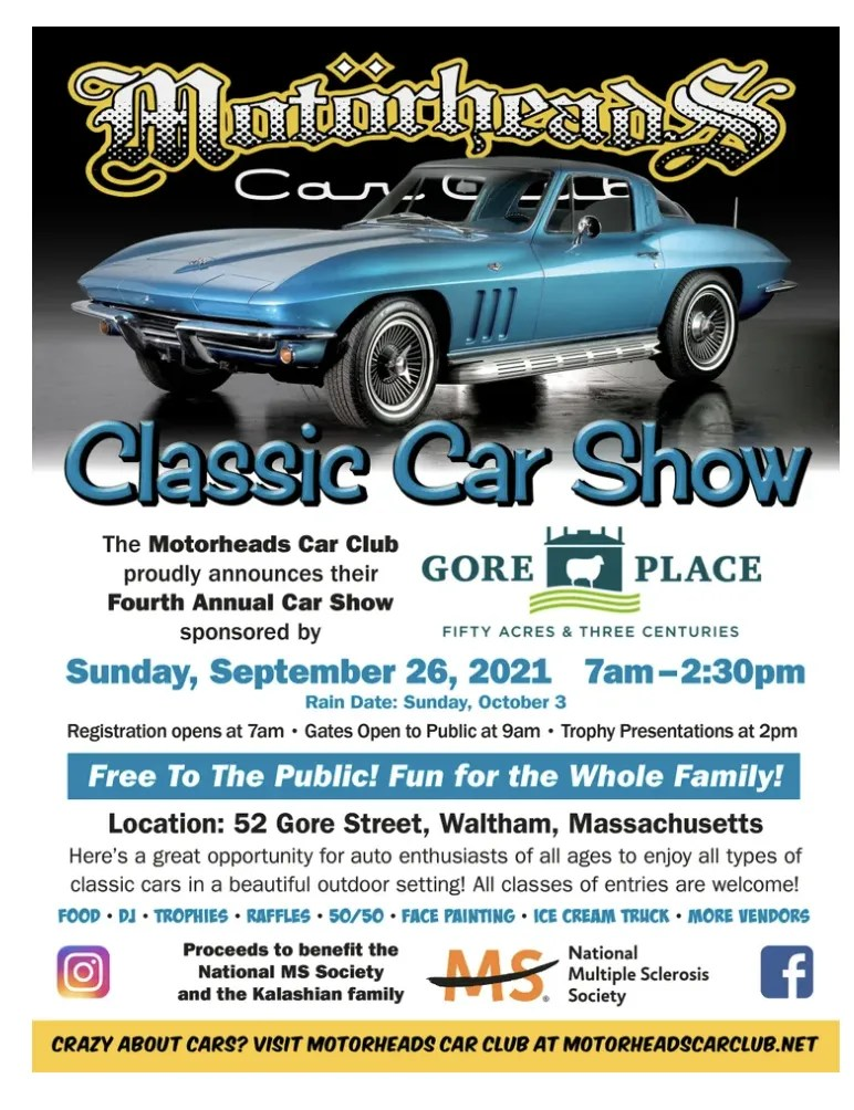 Uncle Joeys at Motorheads Classic Car show