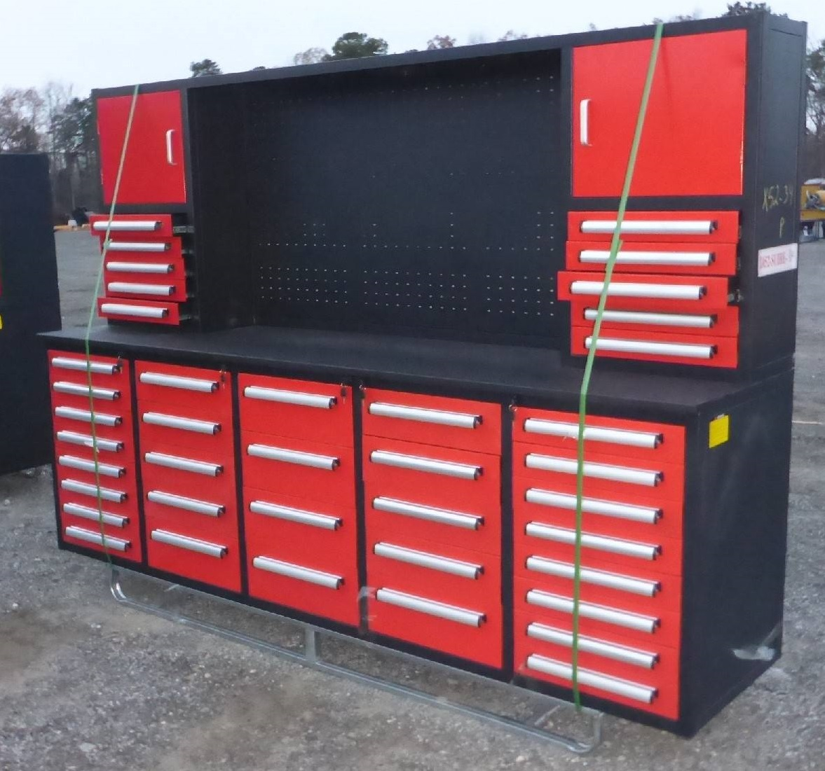New 40 Drawer 10 Ft Work Bench Amp Cabinets 10ft40d Uncle