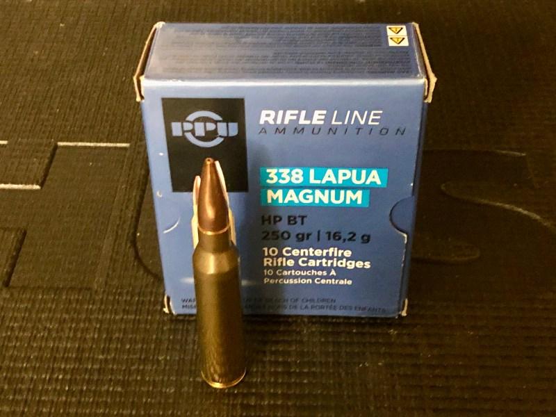 .338 Lapua Magnum HPBT