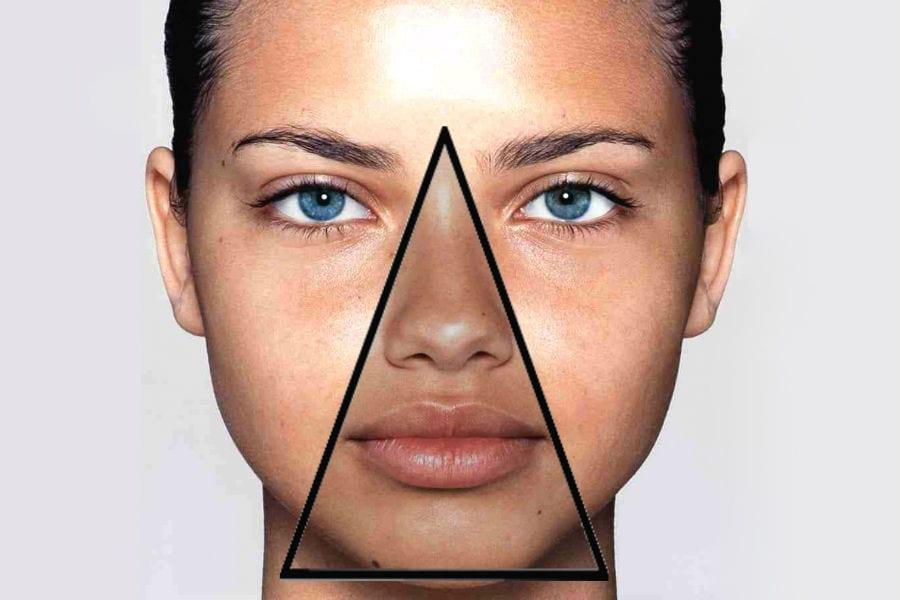 Почему носогубный треугольник на лице называют треугольником смерти
