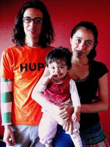 Adorable Layla + her Argentinean parents