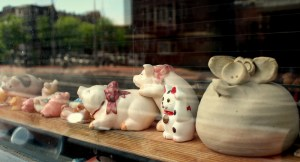 Dutchies' love for diminutives is reflected in their window collections.