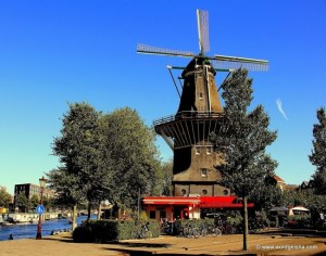 An outdoor terrace makes Brouwerij 't Ij a great place to chill in the shadow of an urban windmill.