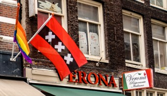 Amsterdam city flag