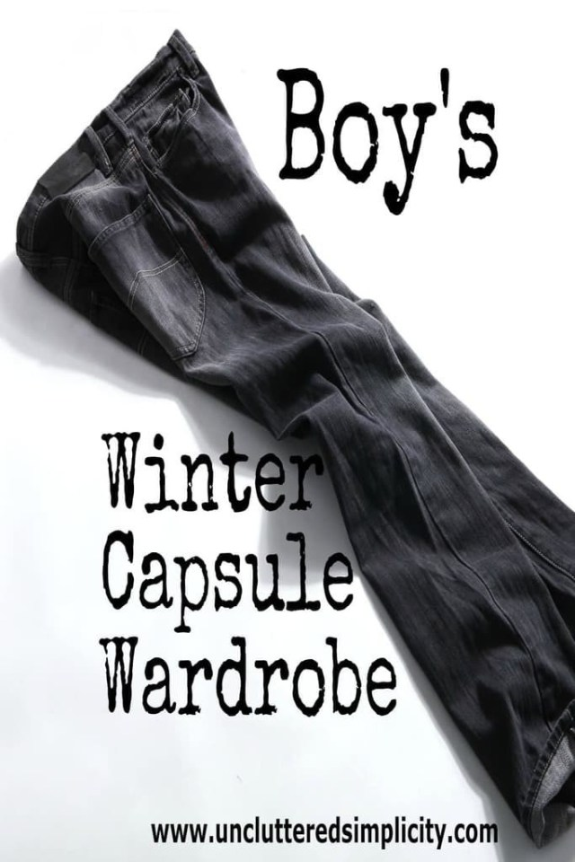 Fall/Winter Capsule Wardrobe for a 9 year old and a 13 year old.