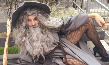 Sexy Gandalf cosplay
