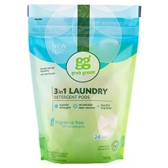 Grab Green Natural Laundry Detergent Pods