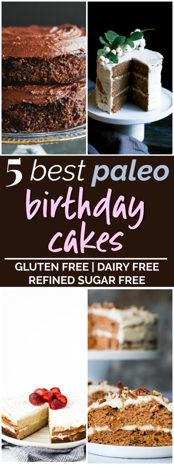 5 Decadent Paleo Birthday Cake Recipes Uncommonly Well