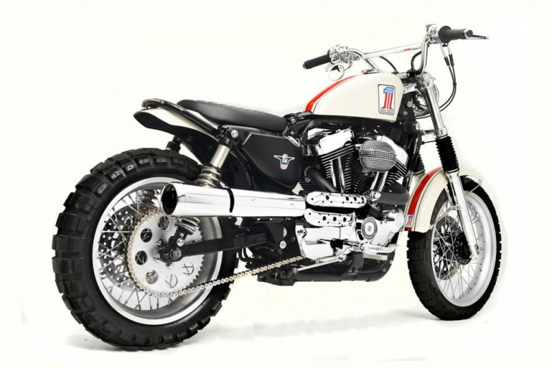 Motorcycles Does A Sportster Scrambler
