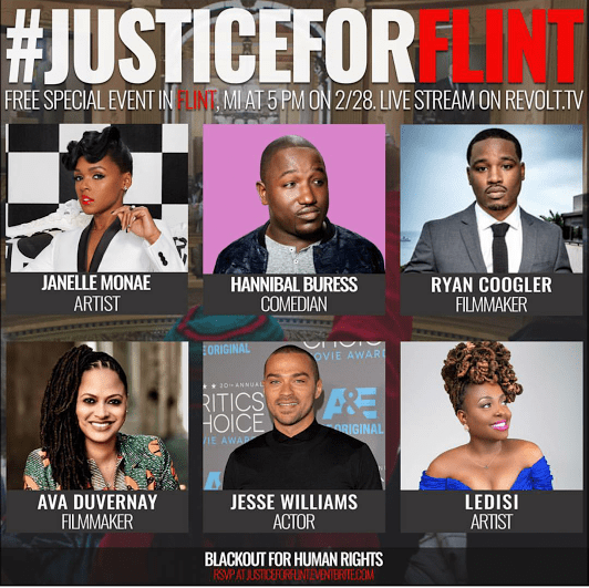[#JusticeForFlint] Members of Blackout For Human Rights Gear Up For #JusticeForFlint Free Event