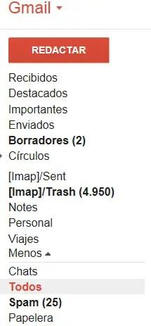 todos los correos
