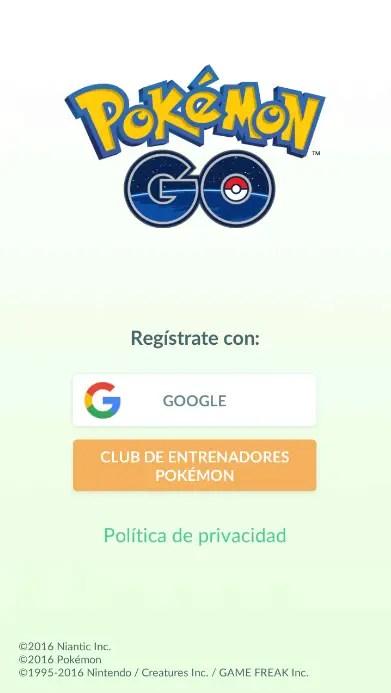 club de entrenadores Pokémon en Pokémon GO