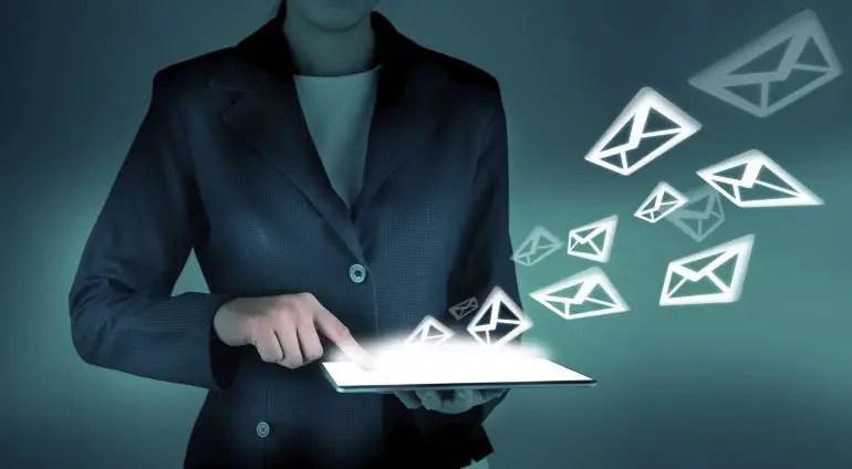 código de email