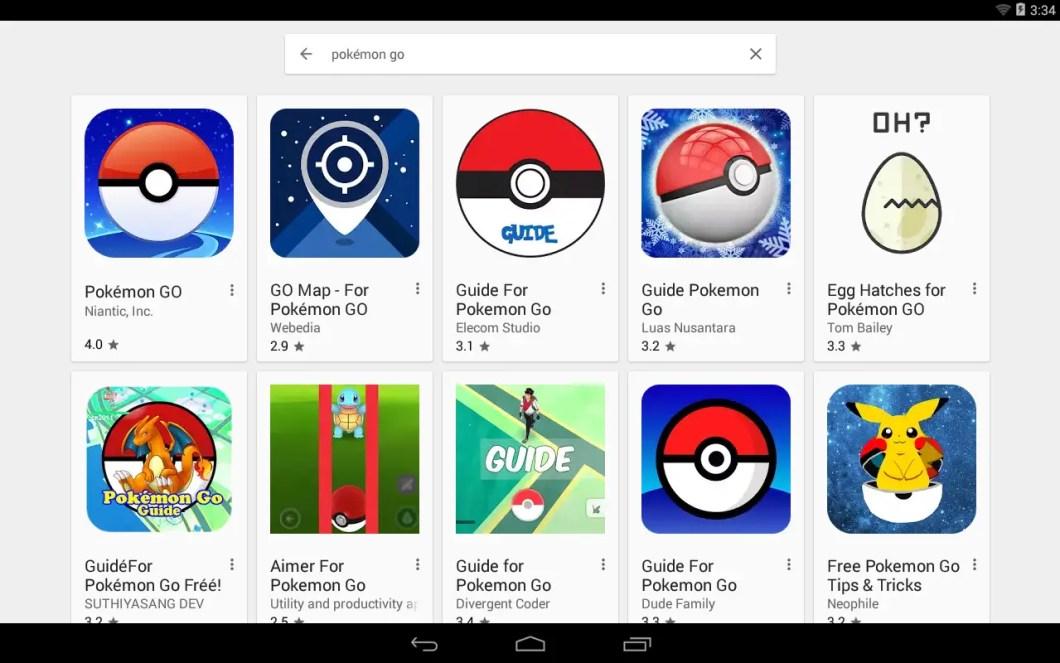 Pokémon GO de Niantic Labs
