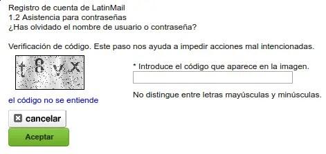 codigo latinmail