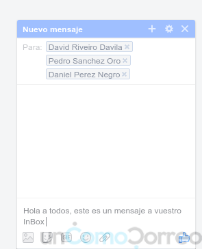mensaje inbox masivo en facebook