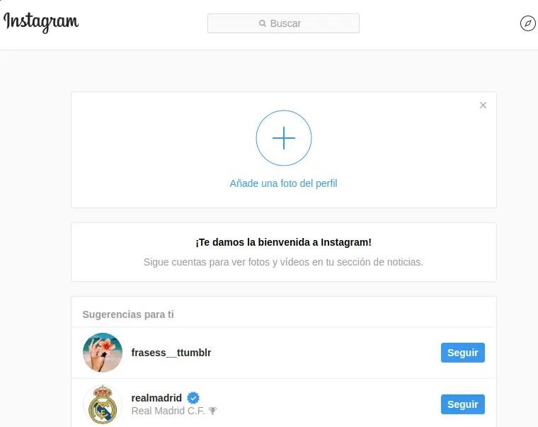 configurar cuenta de instagram