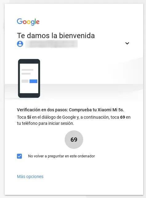 código de verificación de Google Play