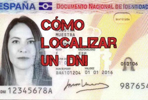 Cómo saber el DNI de una persona en España gratis