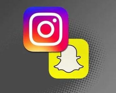 instagram y snapchat