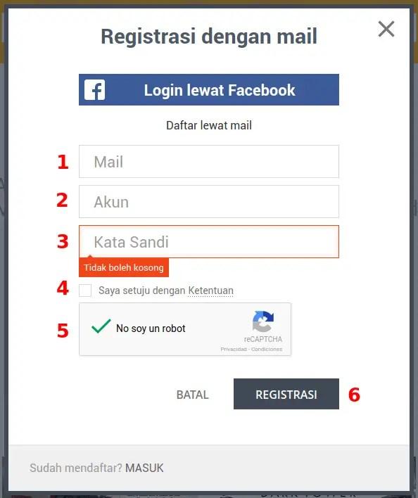 registrarse kbagi