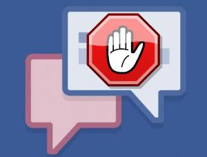 chat de facebook bloqueado