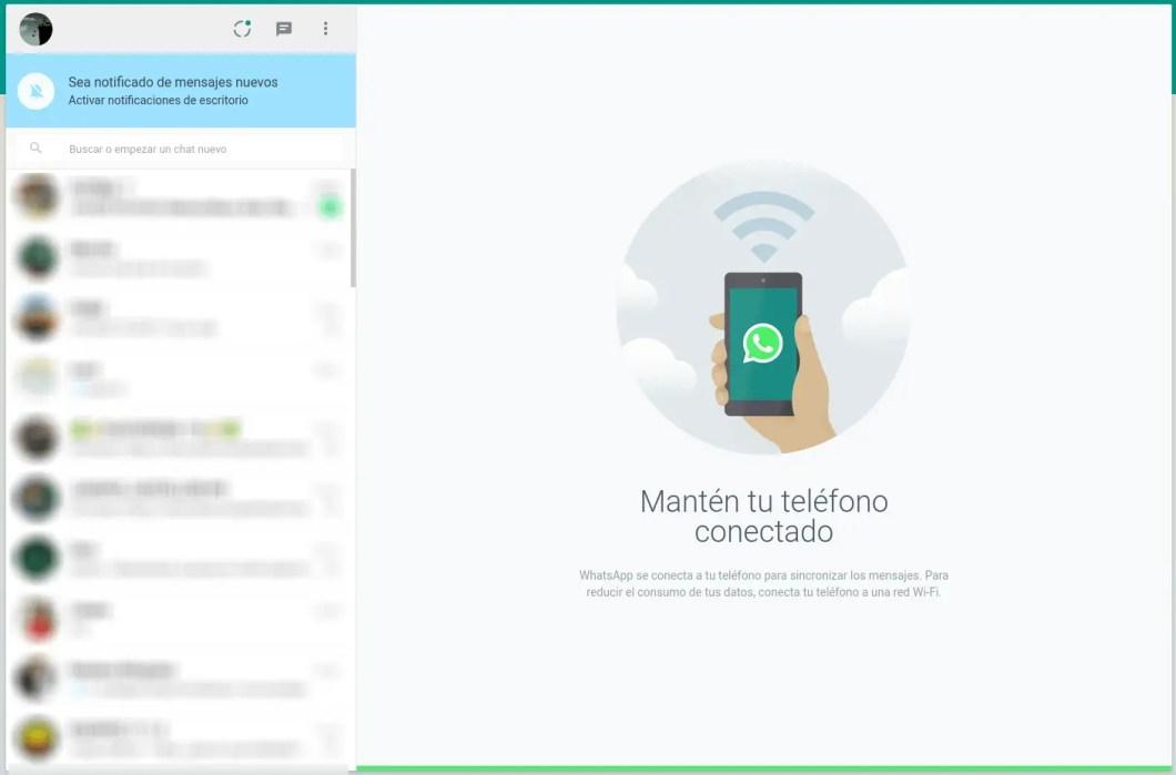 whatsapp web funcionando