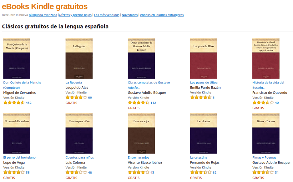 ebooks Kindle gratuitos