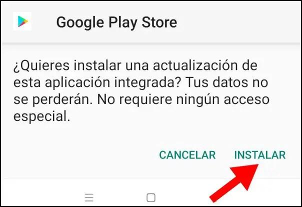 instalar Play Store