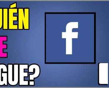 quién me sigue en facebook