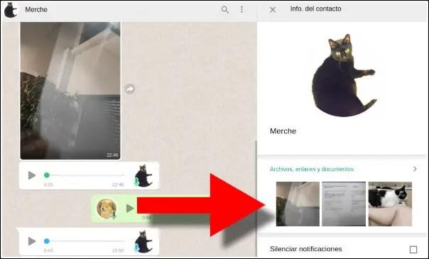 recuperar fotos whatsap web