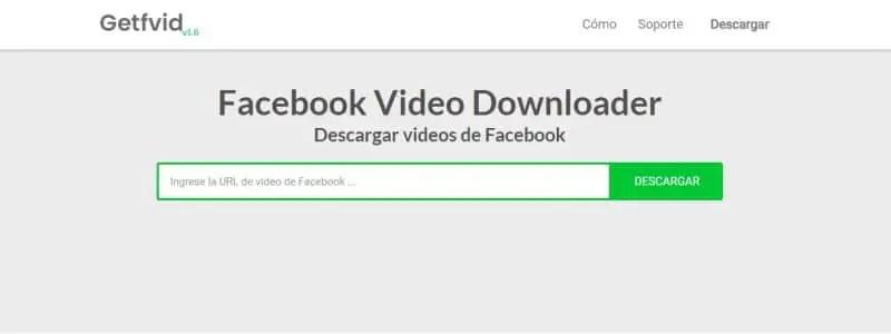Mejores webs para descargar vídeos privados de Facebook_facebook video downloader