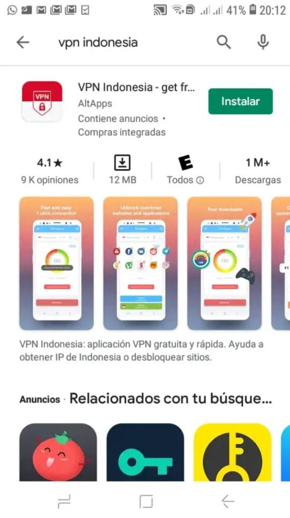Poner un solo nombre en Facebook con VPN