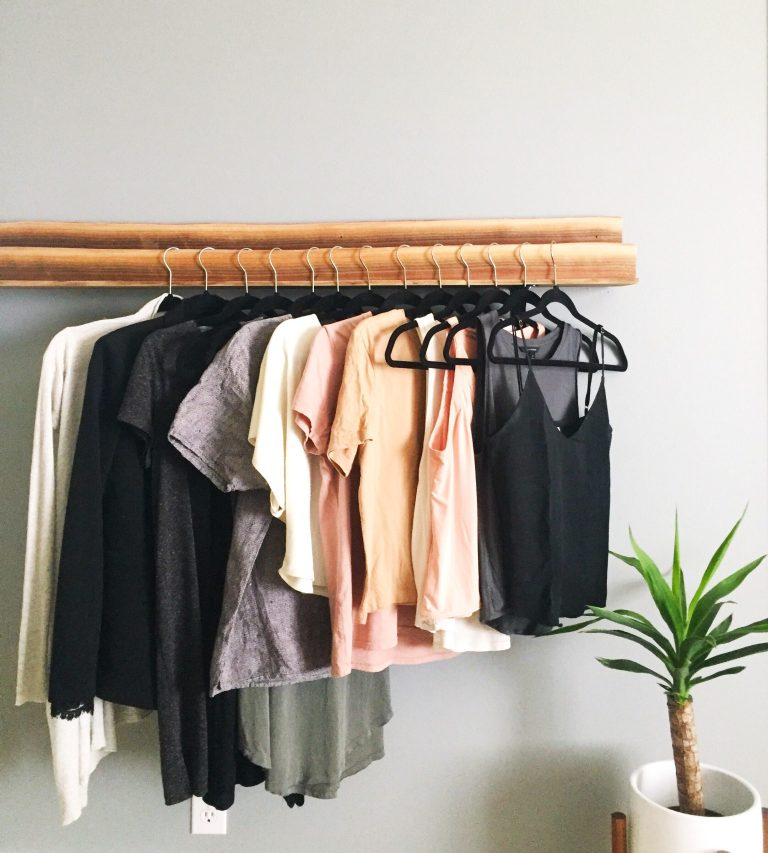 The tops, dresses and jackets that I will include in my Project 333 Capsule Wardrobe