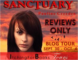 Blogtour and Review: Sanctuary - Pauline Creeden