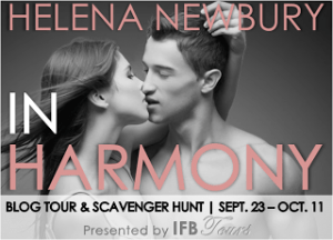 Blogtour, Giveaway and Review: In Harmony (Fenbrook Academy #2) - Helena Newbury
