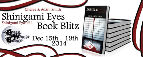 Blogtour Review: Shinigami Eyes - Cheree and Adam Smith