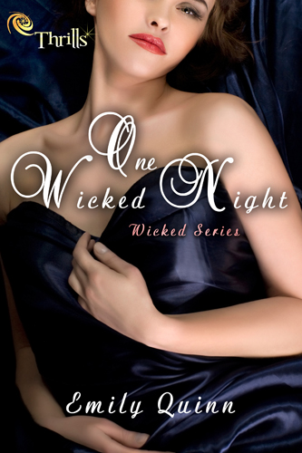Blogtour: Giveaway + Review One Wicked Night – Emily Quinn