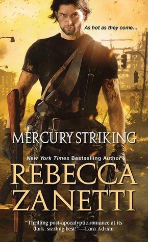 Review: Mercury Striking – Rebecca Zanetti