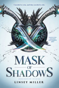 Mask of Shadows cover - (un)Conventional Bookviews - Weekend Wrap-up