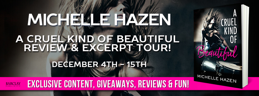 Blogtour and Giveaway: A Cruel Kind of Beautiful - Michelle Hazen