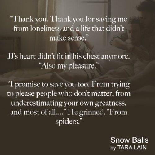 Snow Balls teaser - (un)Conventional Bookviews