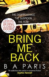Bring Me Back cover - (un)Conventional Bookviews - Weekend Wrap-up