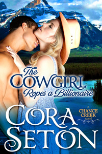 Review: The Cowgirl Ropes a Billionaire (The Cowboys of Chance Creek #4) – Cora Seton