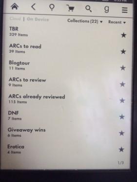 Kindle TBR - (un)Conventional Bookviews