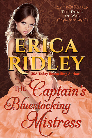 Review: The Captain's Bluestocking Mistress – Erica Ridley