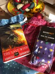 The Last Wish cover - (un)Conventional Bookworms - Weekend Wrap-up