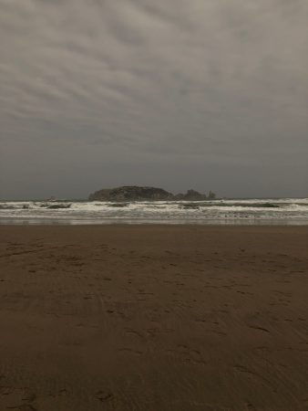 Ominous beachscape - (un)Conventional Bookworms - Weekend Wrap-up