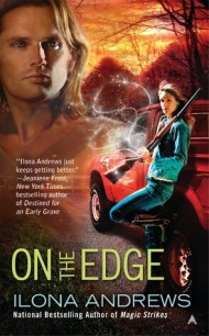 On the Edge cover - (un)Conventional Bookworms - Weekend Wrap-up